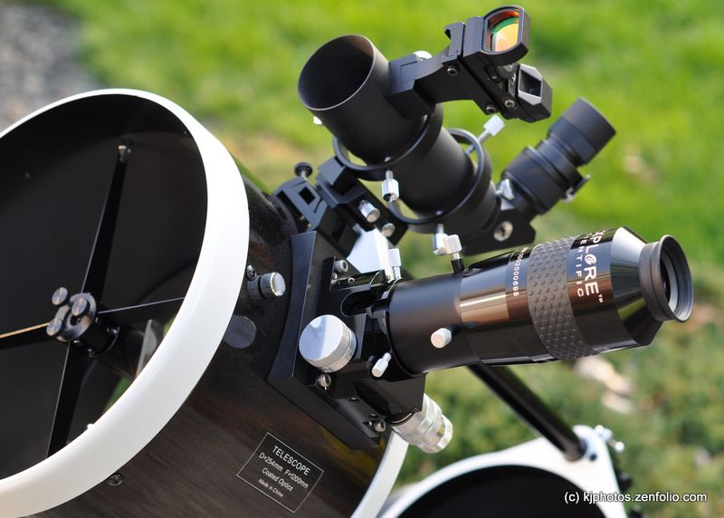 SkyWatcher 10-inch 254mm Dobsonian Telescope MoonLite Stellarvue SV50 kjphotos.