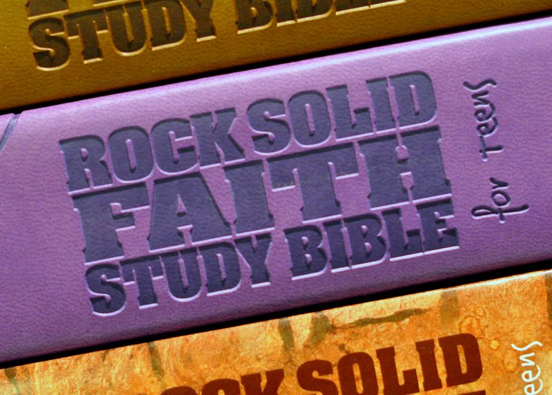 Rock Solid Faith Study Bible - Kevin Johnson